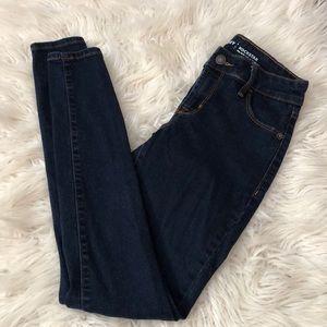 Old Navy dark wash jeans 00